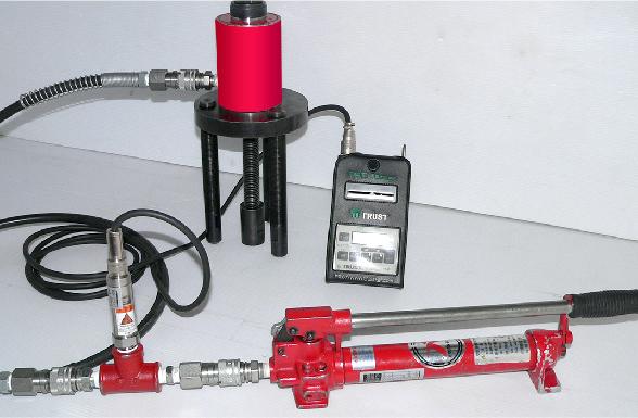 油圧式加圧装置(デジタル表記)