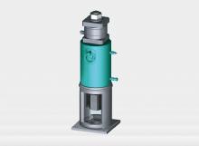 製作物+油圧ジャッキ+ロードセル参考図