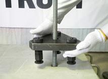 3.反力台の設置
