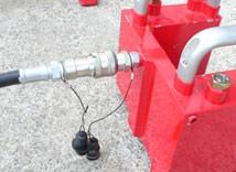 6.油圧ホースの取付
