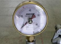 1.圧力計の確認