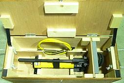 油圧ポンプ・油圧ホース収納ケース