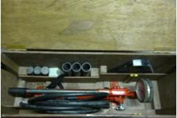 油圧ポンプ・高圧ホース収納ケース