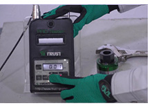 プロテスター TR-75 + 変位確認器 操作手順:11-1
