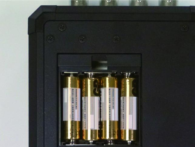 単三乾電池4本駆動
